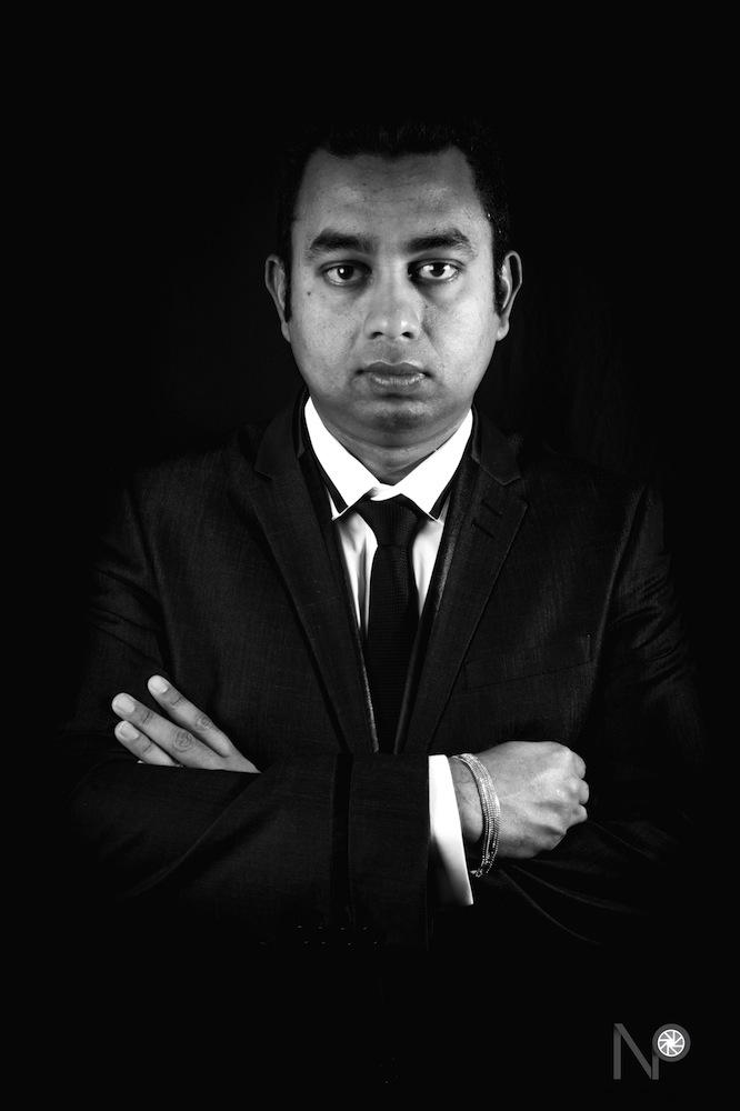 Portrait of Sanjaya