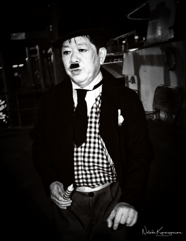 Found Charlie Chaplin inBangkok