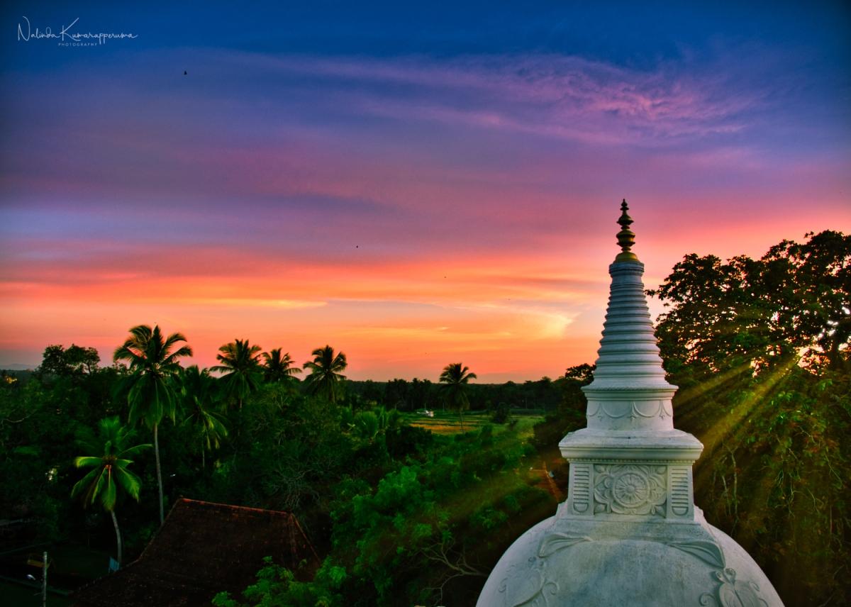 Serenity of Isurumuniya