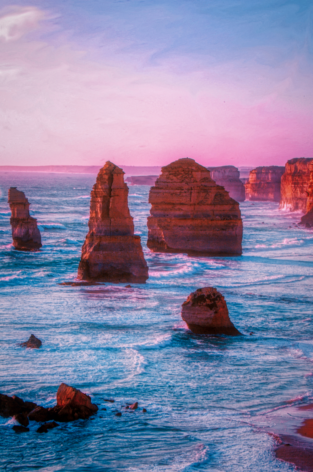 Twelve Apostles by the Great Ocean Road